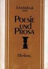 3. Anthologie von Poesie und Prosa -  Various