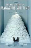 The Best American Magazine Writing 2001 - Harold M. Evans, Harold Meurig Evans