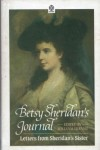 Betsy Sheridan's Journal: Letters from Sheridan's Sister 1784-1786 and 1788-1790 (Oxford Paperback Reference) - Betsy Sheridan