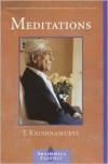 Meditations - Jiddu Krishnamurti, Evelyne Blau, Jim Zaccaria