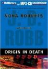 Origin in Death (In Death, #21) - J.D. Robb, Susan Ericksen