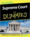 Supreme Court For Dummies - Lisa Paddock