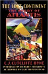 The Lost Continent: The Story of Atlantis (Bison Frontiers of Imagination) - Charles John Cutcliffe Wright Hyne, Charles John Cutcliffe Hyne, Gary Hoppenstand, Harry Turtledove