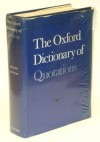 The Oxford Dictionary of Quotations - Bernard Darwin