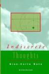 Indiscrete Thoughts - Gian-Carlo Rota