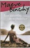 Een zaterdag in september - Maeve Binchy, Pieter Janssens