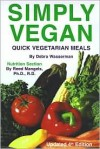 Simply Vegan: Quick Vegetarian Meals - Debra Wasserman,  Reed Mangels