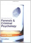 Introduction to Forensic and Criminal Psychology - Dr Dennis Howitt
