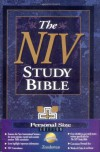 Study Bible: NIV (Personal Size) - Anonymous, Donald W. Burdick