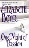 One Night of Passion (Danvers, # 2) - Elizabeth Boyle