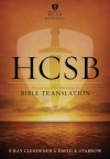 HCSB: Navigating the Horizons in Bible Translations - E. Ray Clendenen, David K. Stabnow