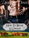 How To Break A Cowboy  - Daire St. Denis