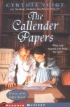 The Callender Papers - Cynthia Voigt