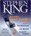Sorry, Right Number, and Other Stories - Joe Mantegna, Joe Morton, Domenic Custern, Stephen King