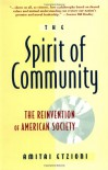 Spirit Of Community - Amitai Etzioni