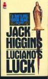 Luciano's Luck (Audio) - Jack Higgins, Patrick Macnee