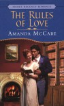 The Rules of Love - Amanda McCabe