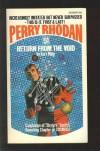Return From the Void (perry Rhodan #51) - Kurt Mahr