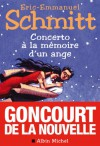 Concerto à la mémoire d'un ange - Éric-Emmanuel Schmitt