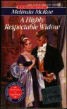 A Highly Respectable Widow - Melinda McRae