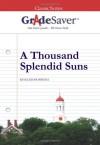 GradeSaver (TM) ClassicNotes A Thousand Splendid Suns: Study Guide - Adena Raub