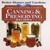 America's All-Time Favorites Canning & Preserving Recipes (Better Homes & Gardens) - Better Homes and Gardens