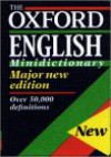 The Oxford English Minidictionary - Elaine Pollard