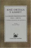 Deshumanizacion Del Arte,La (El libro de bolsillo) - Jose Ortega Y Gasset
