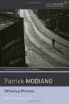 Missing Person (Verba Mundi Book) by Modiano, Patrick (2004) Paperback - Patrick Modiano