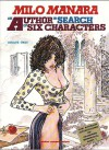 An Author in Search of Six Characters (Adventures of Giuseppe Bergman) - Milo Manara