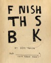 Finish This Book - Keri Smith