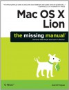 Mac OS X Lion: The Missing Manual - David Pogue
