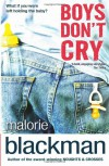 Boys Don't Cry - Malorie Blackman