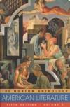 The Norton Anthology Of American Literature - Nina Baym, Hershel Parker