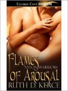 Flames of Arousal (Xylon Warriors, Book Three) - Ruth D. Kerce