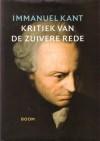 Kritiek van de zuivere rede - Immanuel Kant, Jabik Veenbaas, Willem Visser