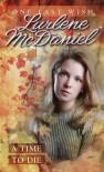 Time to Die #1 - Lurlene McDaniel