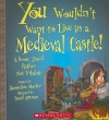 You Wouldn't Want to Live in a Medieval Castle!: A Home You'd Rather Not Inhabit - Jacqueline Morley, David Antram
