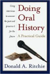 Doing Oral History - Donald A. Ritchie