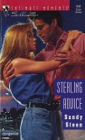 Sterling Advice (Silhouette Intimate Moments #545) - Sandy Steen
