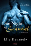 One Night of Scandal (an After Hours novel) (Entangled Brazen) - Elle Kennedy