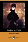 Creditors, and Pariah (Dodo Press) - August Strindberg, Edwin Bjorkman