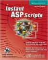 Instant ASP Scripts [With CDROM] - Greg Buczek, Greg Buzcek
