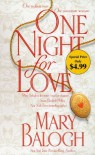 One Night for Love (Bedwyn Prequels #1) - Mary Balogh
