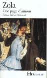 Une page d'amour - Émile Zola, Henri Mitterand