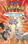 Pokemon Pocket Comics Legendary Pokemon Free Comic Book Day 2016 - Santa Harukaze