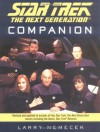 The Star Trek: The Next Generation Companion - Larry Nemecek