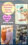 Moonlit Hearts Romances : Novella Trio of Seasonal Clean Romances - Angie Ellington