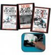 The Complete Scary Stories Collection: Scary Stories to Tell in the Dark, More Scary Stories to Tell in the Dark, and Scary Stories to Tell in the Dark 3 (Free Mini Book Light Included!) (3-Book Set) - Alvin Schwartz