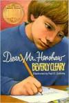 Dear Mr. Henshaw -